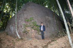石舞台古墳天井石